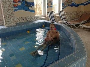 В Гранд Спа Отеле Петергоф с грудничком