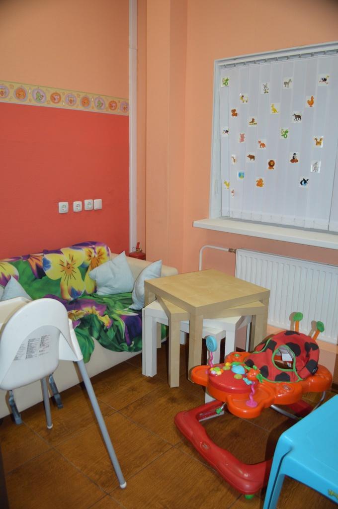 комната матери и ребенка чудо домик
