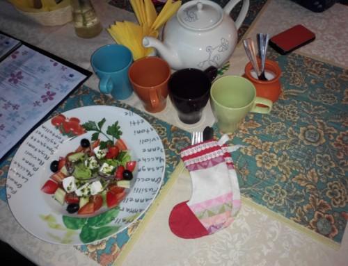 Семейный обед в кафе с детской комнатой «Сказкин» на Вавиловых 19